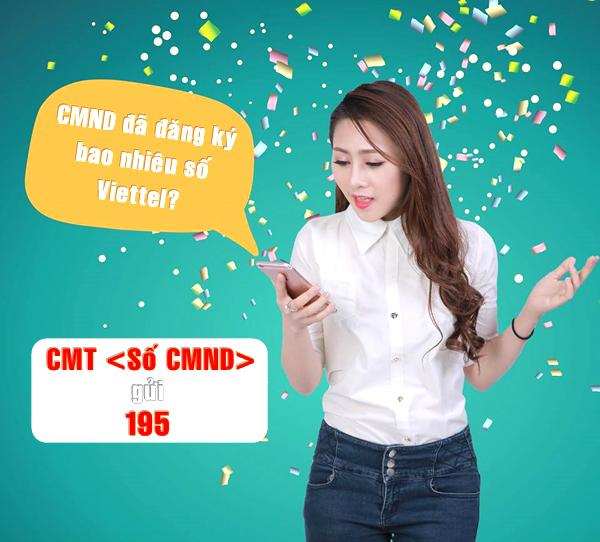 Làm sao biết CMND đã đăng ký bao nhiêu sim Viettel?