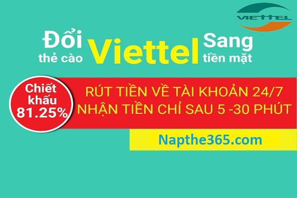 Mách bạn địa chỉ đổi thẻ cào Viettel thành tiền mặt uy tín nhất