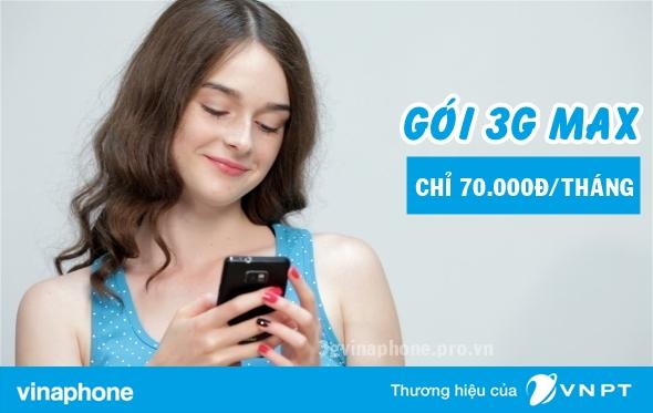 Liệt kê những gói cước 3G Vinaphone 1 tháng có giá cước ưu đãi