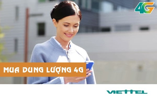 Hướng dẫn mua thêm dung lượng 4G viettel nhanh chóng nhất