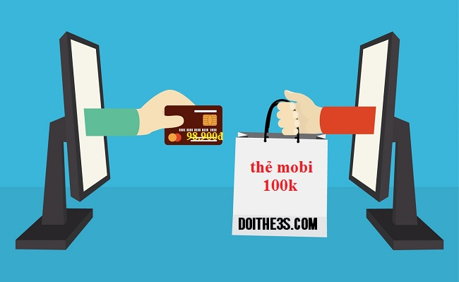 Mua mã thẻ cào Mobifone 100k online giá 98.900đ
