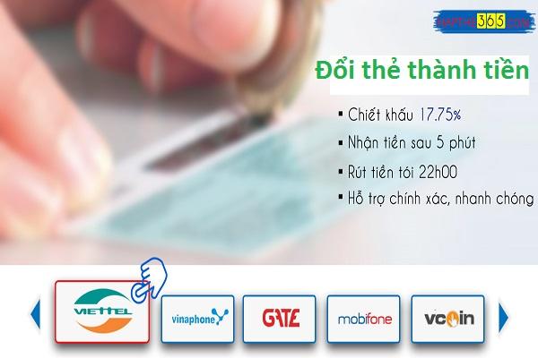 4 lợi ích tuyệt vời khi đổi thẻ thành tiền tại Napthe365.com