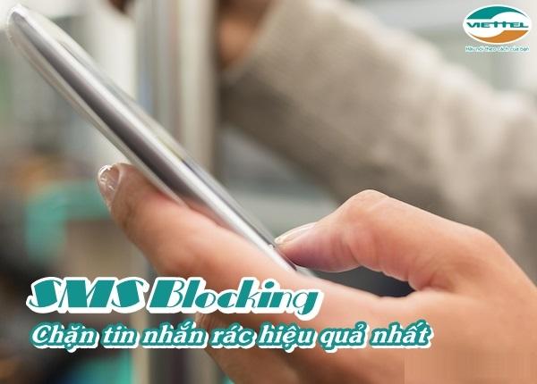 Hướng dẫn cách đăng kí và sử dụng gói SMS Blocking viettel