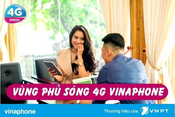 Thông tin về phủ sóng 4G vinaphone Trên Toàn Quốc mới nhất