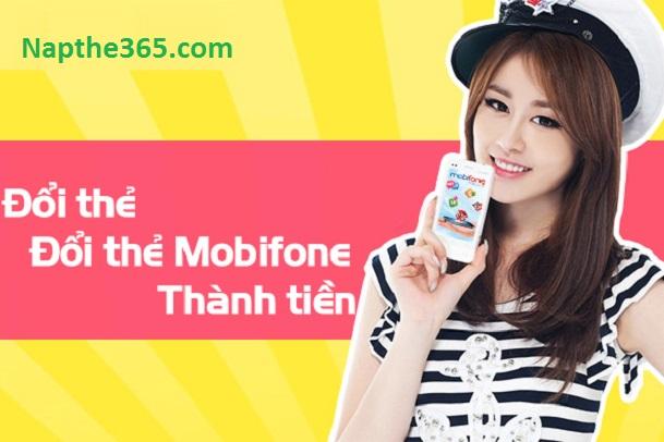Đổi thẻ cào Mobifone thành tiền phí siêu rẻ