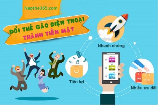 Website uy tín cung cấp dịch vụ đổi thẻ cào điện thoại