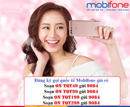 Tổng hợp những gói gọi quốc tế mobifone giá rẻ