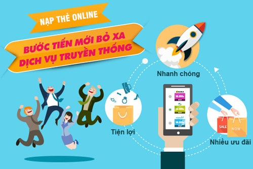 Mua thẻ Viettel online khác gì mua thẻ Viettel giấy?