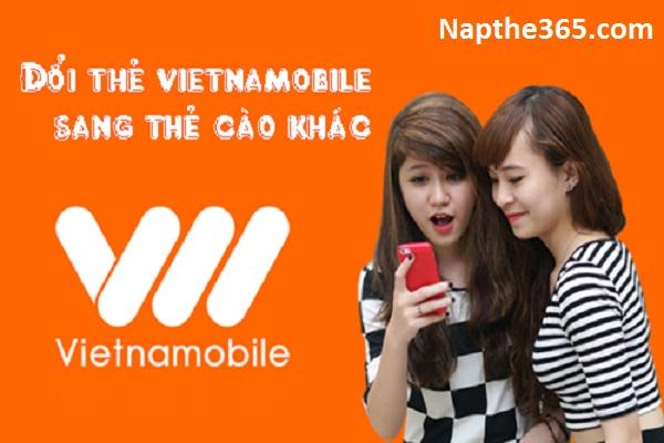 Đổi thẻ Vietnamobile sang thẻ khác cực dễ dàng