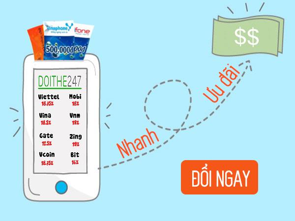 Đổi thẻ điện thoại thành tiền nếu không có ý định sử dụng