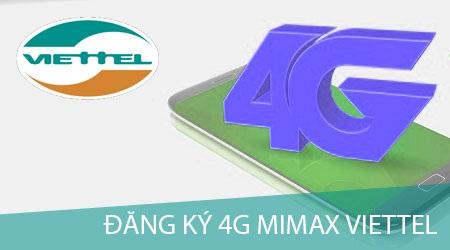 Gói Mimax 4G Viettel chỉ 90.000đ/tháng