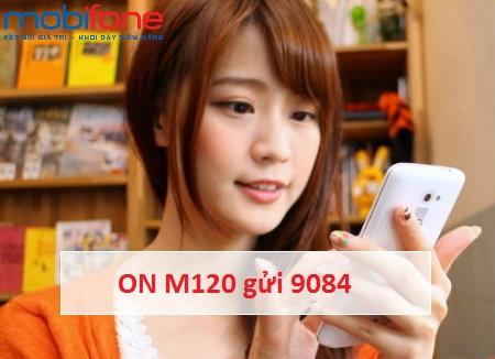 Hướng dẫn nhanh cách đăng kí gói M120 Mobifone