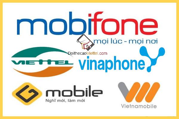 Đổi thẻ Mobi lấy thẻ Viettel nhanh nhất