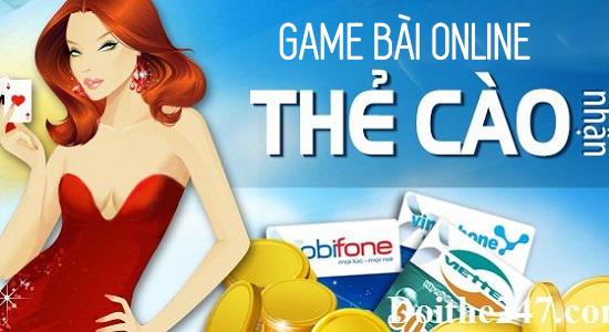 Top 3 game bài online chơi có thưởng, đổi thẻ cào miễn phí