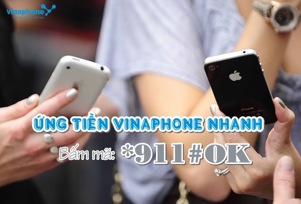 Hướng dẫn cách ứng tiền vinaphone đơn giản nhất
