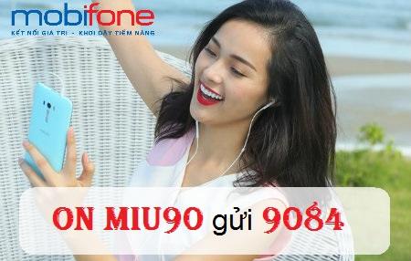 Hướng dẫn cách đăng kí gói MIU 90 mobifone chỉ với 90.000đ