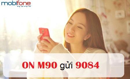 Nhanh tay đăng kí ngay gói M90 mobifone  nhận ưu đãi lớn