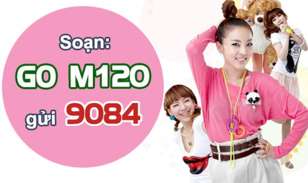 Cách đăng ký gói cước 3G M120 Mobifone