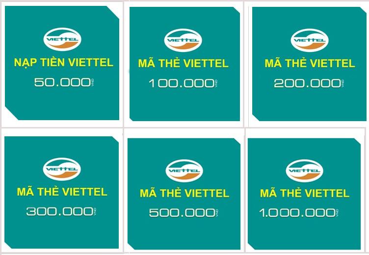 Hướng dẫn đổi thẻ Viettel lấy thẻ Gate