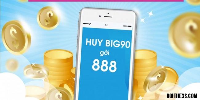 Hủy gói BIG90 Vinaphone bằng tin nhắn
