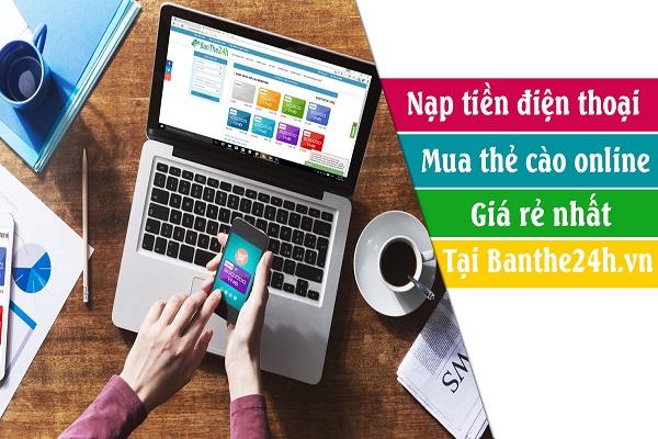 Hướng dẫn cách mua mã thẻ cào điện thoại online giá rẻ