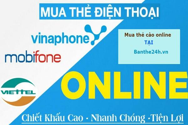 Mua thẻ cào online giá rẻ uy tín