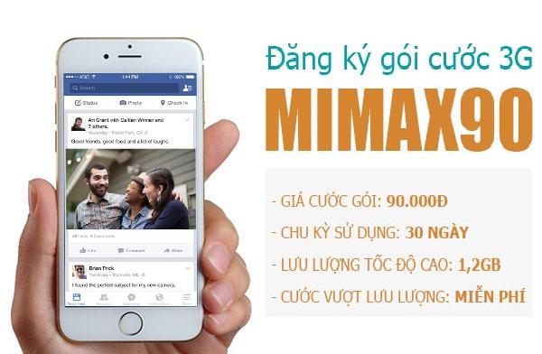 Hướng dẫn đăng ký gói MIMAX90 của Viettel nhanh nhất