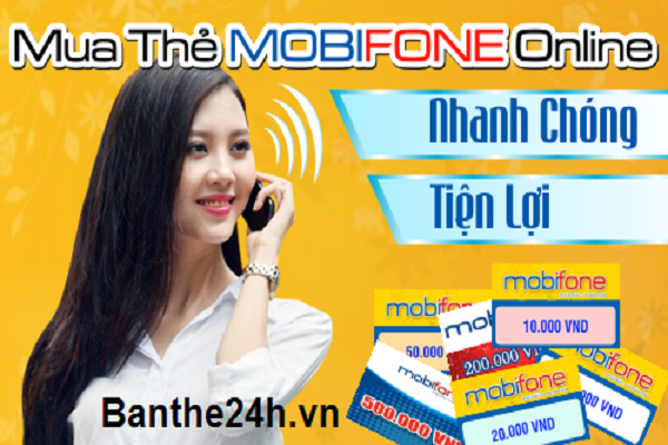 Hướng dẫn cách mua thẻ cào Mobifone online giá rẻ nhất