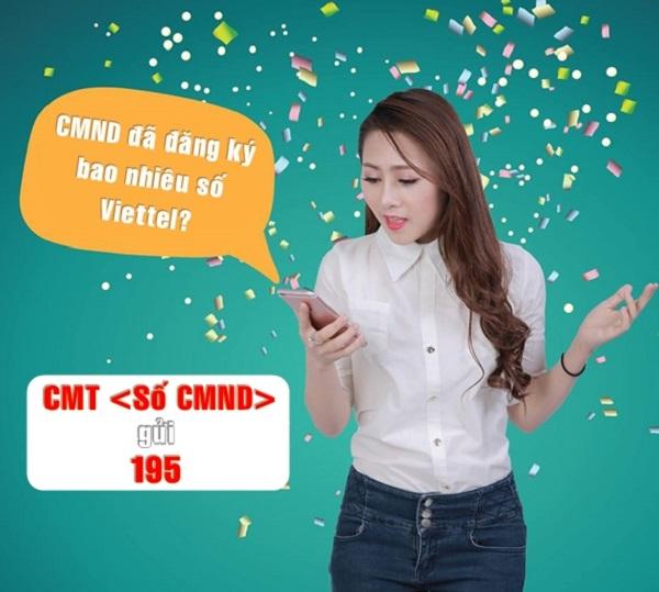 Cách kiểm tra CMND đã đăng ký bao nhiêu sim Viettel?
