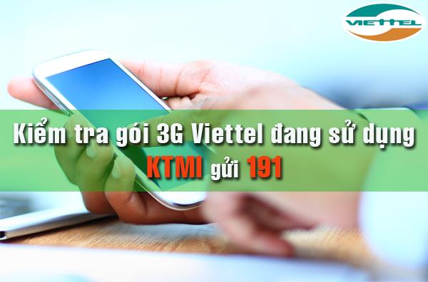 Hướng dẫn cách kiểm tra hủy gói cước 3G viettel thành công hay chưa?