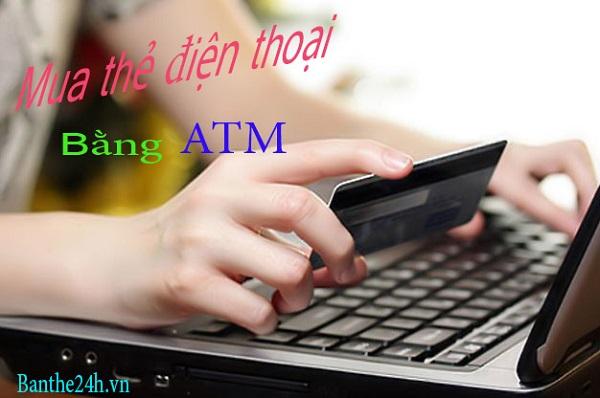 Dùng thẻ atm có mua được thẻ điện thoại online không?