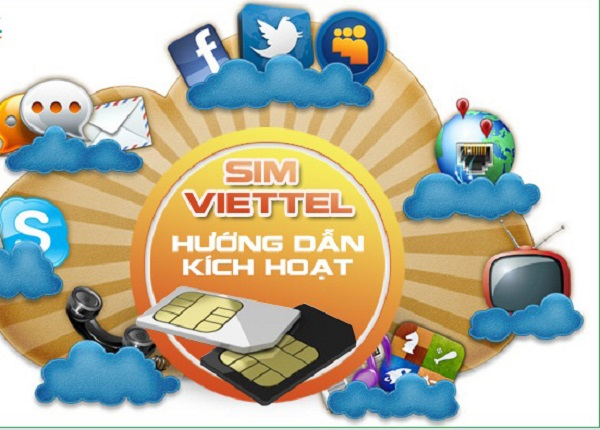 Hướng dẫn cách kích hoạt sim Viettel mới hòa mạng