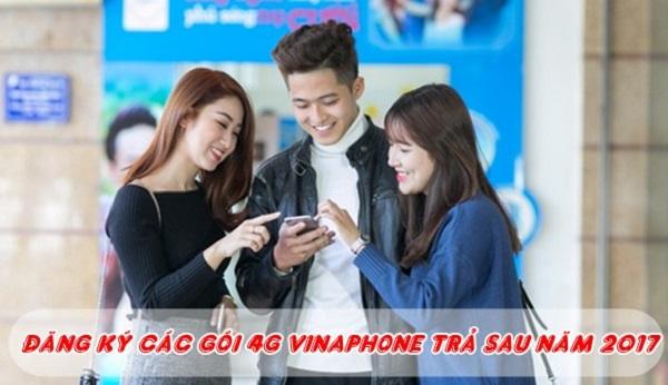 Tổng hợp các gói cước 4G dành cho các thuê bao Vinaphone trả sau mới nhất