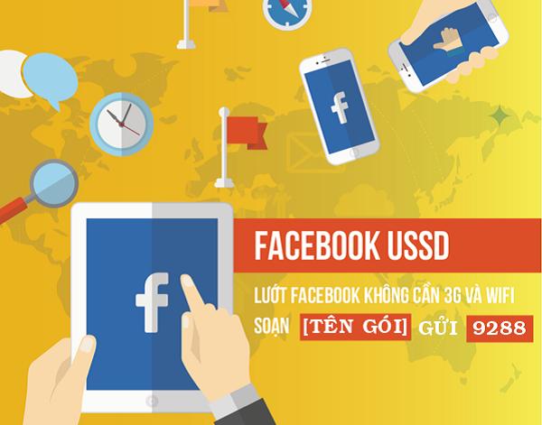 Lướt face thả ga với dịch vụ Facebook USSD Mobifone