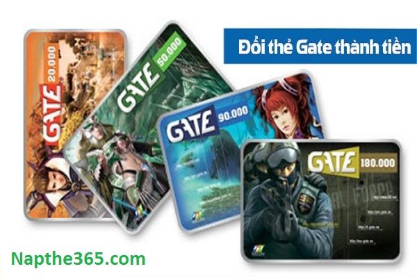 Đổi thẻ cào Gate thành tiền mặt nhận ưu đãi khủng lên tới 87.5%