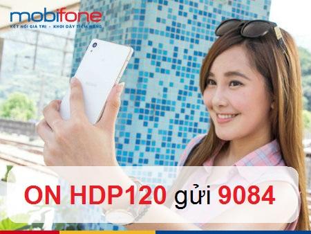 Hưởng ưu đãi hấp dẫn cùng gói cước 4G Mobifone – HDP120 ưu đãi 4GB + 120 phút