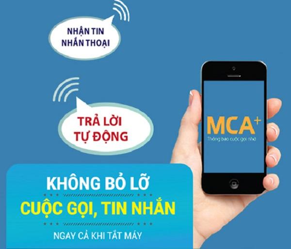 Cú pháp đăng ký dịch vụ thông báo cuộc gọi nhỡ MCA của Mobifone