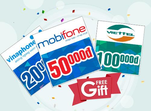 Hướng dẫn cách mua thẻ điện thoại online uy tín trên Banthe24h.vn