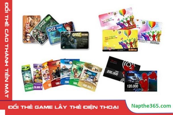 Đổi thẻ game lấy thẻ điện thoại siêu đơn giản