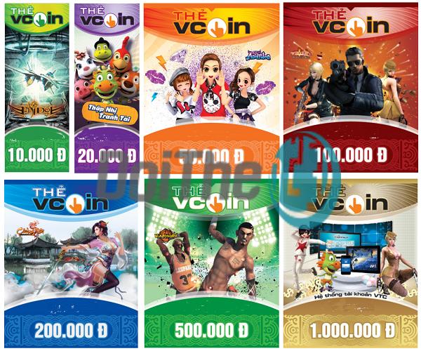 Hướng dẫn đổi thẻ cào Vcoin ra tiền mặt tại Doithe3s.com