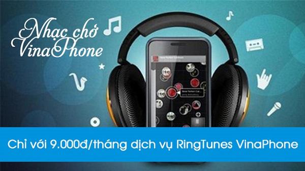 Cú pháp đăng ký dịch vụ nhạc chờ Ringtunes Vinaphone