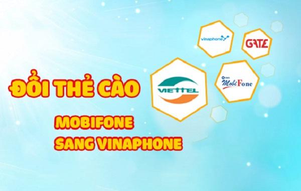 Bí quyết đổi thẻ cào mobifone sang vinaphone nhanh nhất