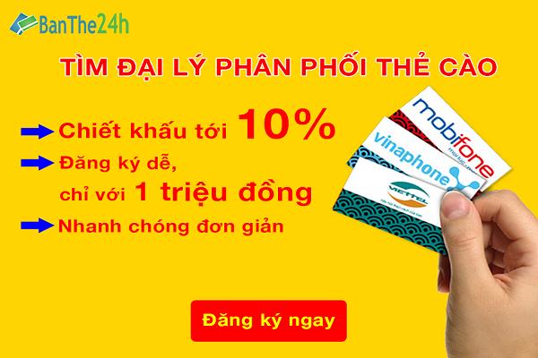 Hướng dẫn cách nạp tiền vào tài khoản Banthe24h.vn để mua thẻ cào online