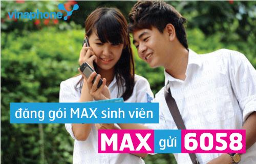 Đăng kí gói Mimax Vinaphone 25k để dùng mạng thỏa thích