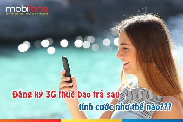 Hướng dẫn trả cước phí đăng kí 3G mobifone trả sau nhanh nhất