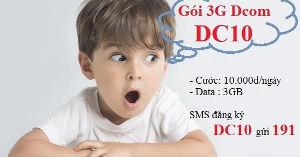 Hướng dẫn chi tiết cách đăng kí gói DC10 viettel ưu đãi
