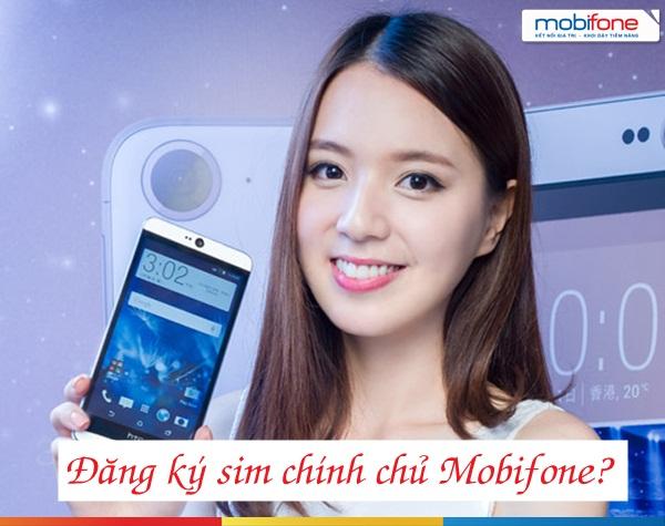 Những thủ tục cần để đăng kí chính chủ cho sim 3G mobifone
