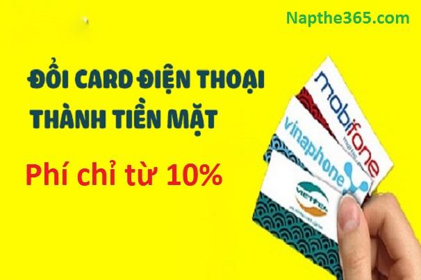 Hướng dẫn cách đổi card điện thoại ra tiền mặt cực đơn giản & tiện lợi