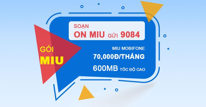Hướng dẫn bạn đăng ký gói MIU mobifone