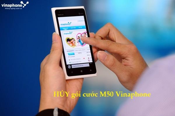 Những lưu ý khi hủy gói cước M50 Vinaphone bạn cần biết